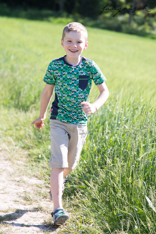 Wer will ein grünes Chamäleon im Schrank? | Urmelis Stoffwelt bloggt…